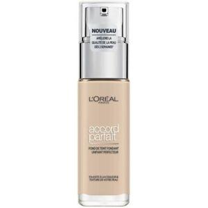 1.R Ivoire Rosé - Fond de Teint Fluide Accord Parfait de L'Oréal Paris