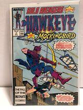 Solo Avengers Starring HAWKEYE & MOCKINGBIRD #1 (1987, Marvel) NM UNREAD