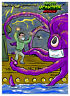 Masked MONSTERS ATTACK! 20,000 Leagues Under The Sea Wax Digital TRADING CARD 12