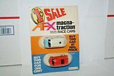 1 Cent Sale Twin Pack 1978 AFX Aurora Dodge Van & Ford Street Van HO Slot Cars