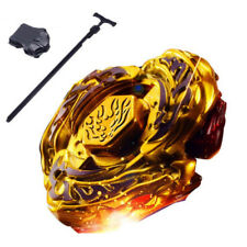 Bey Blade Launcher Metal Starter Fusion 4D Set GOLD Toys Gyroscope New Kids Game