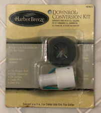 """DOWNROD CONVERSION KIT HAROR BREEZE CONVERTS 1/2"""" COLLARS TO FIT 3/4"""" DOWNRODS"""