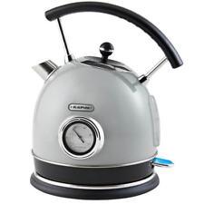 Blaupunkt 3000W 1.7L  Retro Kettle Vintage Style Kitchen - Grey