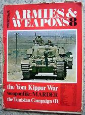 Waffenmagazin Schweiz von 1973 Armies & Weapons Nr. 8 in englisch