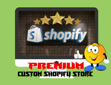 Custom Premium Shopify Dropshipping Store/Website