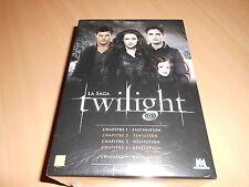 coffret 5 DVD TWILIGHT chapitres 1 à 5 - sous blister