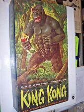mostly unbuilt & complete ORIGINAL RKO King Kong model kit w/ box (1964) Aurora