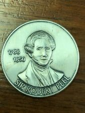 1971 Sir Felix Booth F.R.S. Antiqued Coin 29.8 Grams .999 Fine Silver Round