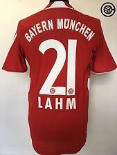 LAHM #21 Bayern Monaco Adidas Calcio Casa Maglietta Jersey 2007/08 (S)