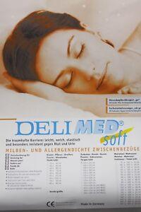 Allergiker Matratzenbezug Milbendicht Milbenschutz Bettwäsche 100x200x14cm Soft