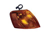 Park Signal Light w//Bulb Assy Rh Amber//Clear Fits Passat Old Style 1998-2001