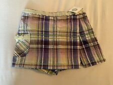 Girls Little Me Skort Size 12 Months New with Tags