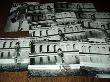 SHEILA LOT DE PHOTOS FORMAT 10*15 N&B - THEME 032 CHATEAU - 10 PRISES