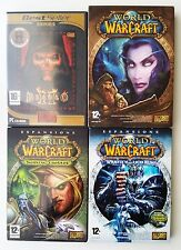 BLIZZARD DIABLO 2 II + ESPANSIONE LORD OF DESTRUCTION ITA + WOW 1-2-3 PC CD GAME