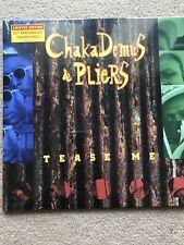 "CHAKA DEMUS & PLIERS - TEASE ME 12"" YELLOW VINYL RECORD STORE DAY RSD 2018"