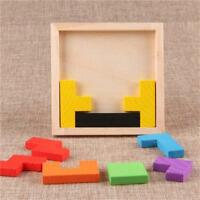 Wooden Board IQ Imagination Tangram Puzzles Funny Jigsaw Puzzle Tough Unisex LJ