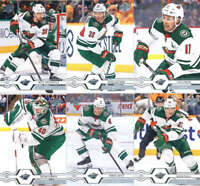 2019-20 Upper Deck Series 2 Minnesota Wild Team Set of 6 Cards