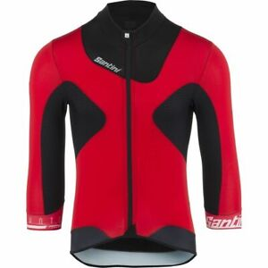 Photon 2.0 Aero Cycling Jersey with 3/4 length sleeves in Red - by Santini
