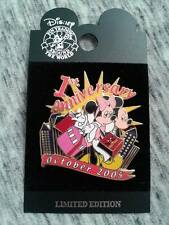 World of Disney NYC 1st Anniversary Mickey & Minnie Shopping Pin