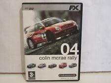Colin Mcrae Rally 04 - DVD - PC - Castellano - Completo - 2004 - EX+/EX+