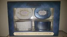 Set of 2 Luxury Soy Candles - Home Fragrance Candle Gifts - Choose Your Option