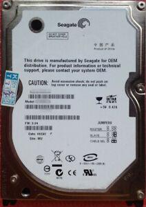 Seagate 2,5 Zoll IDE PATA Laptop Notebook Festplatte 40GB 60GB 80GB 120GB 160GB
