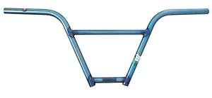 """S&M BIKE FUBAR BARS 10 INCH RISE TRANS SKY BLUE 10"""" BMX BIKE BAR  HANDLEBAR BARS"""