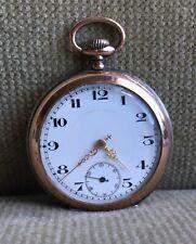 Lepine Taschenuhr Silber - HE - Pocket Watch  ca. 1910
