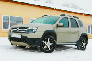 Wheel arch extensions for Renault Duster (2009-2015)
