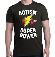 Autism Is My Super Power T-shirt Autism Awareness Month Shirts