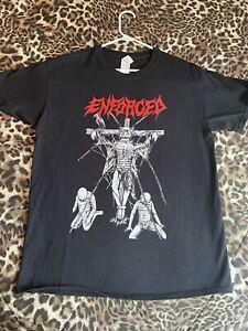 Rare OG ENFORCED shirt Power Trip Gatecreeper Dead Heat Slayer Demolition Hammer