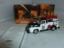 MATCHBOX DIECAST  FIRE ENGINE YYM35187 1954 FORD CIVIL DEFENSE TRUCK