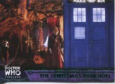 Doctor Who Timeless Green Parallel Base Card #45 The Christmas Invasion