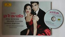 Anna Netrebko Rolando Villazon Verdi - La Traviata Presskit/Folder Inc. DVD 2005