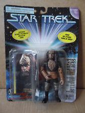 "Star Trek, Deep Space Nine ""CAPTAIN KURN"" figure. By Playmates 1997. New/Sealed."