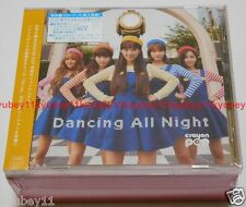 New CRAYON POP Dancing All Night Special Limited Edition CD Knit cap Card Japan