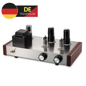 HiFi 6P6P Röhrenvorverstärker Valve Tube Stereo Preamplifier Home Audio Preamp