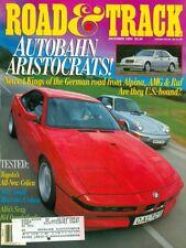 1993 Road & Track Magazine: Autobahn Aristocrats Alpina, AMG & Ruf/Toyota Celica