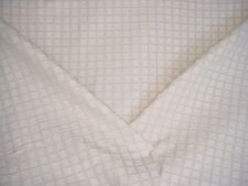 12-1/4Y SUNBURY UNION SQUARE BUTTERY CHECK CHENILLE UPHOLSTERY FABRIC