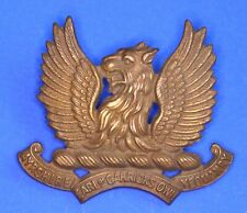 More details for ww1 ayrshire (earl of carrick's own) yeomanry regiment cap badge *[21159]