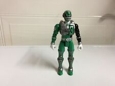 Power Rangers SPD Sound Patrol Green Power Ranger 3 Action Figure 2005 Bandai 6""