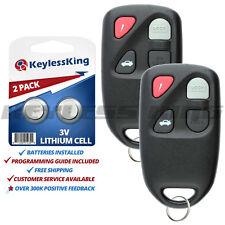 2x For 1998 1999 2000 Mazda Protege Keyless Entry Remote Key Fob KPU41015