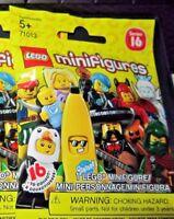 "Lego Series 16 71013 ""Banana Suit Guy"" Minifigure, SEALED"