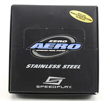 Speedplay Zero Aero Stainless Road Bike Pedals
