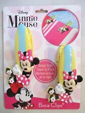 New ~ Disney Boca Towel Clips ~ Minnie Mouse ~ Keeps Towels In Place ~ $17.99