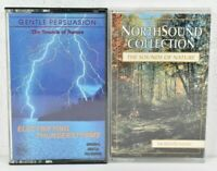 Lot of 2 Selection of Nature Sounds Cassettes Nature and Thunderstorms  VG  C6