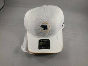 Nike Arcadia Invitational 2020 White Aerobill Hat CW1335-100 NWT