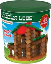 Lincoln Logs – Classic Meetinghouse - 117Pieces Real Wood Building Construction