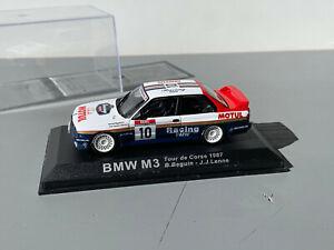 RALLY 1/43 IXO ALTAYA ROTHMANS BMW M3 E30 BENARD BEGUIN CORSICA 1987 CORSE