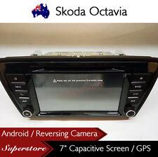 "7"" Car DVD GPS Navigation Head Unit Stereo Radio For Skoda Octavia"